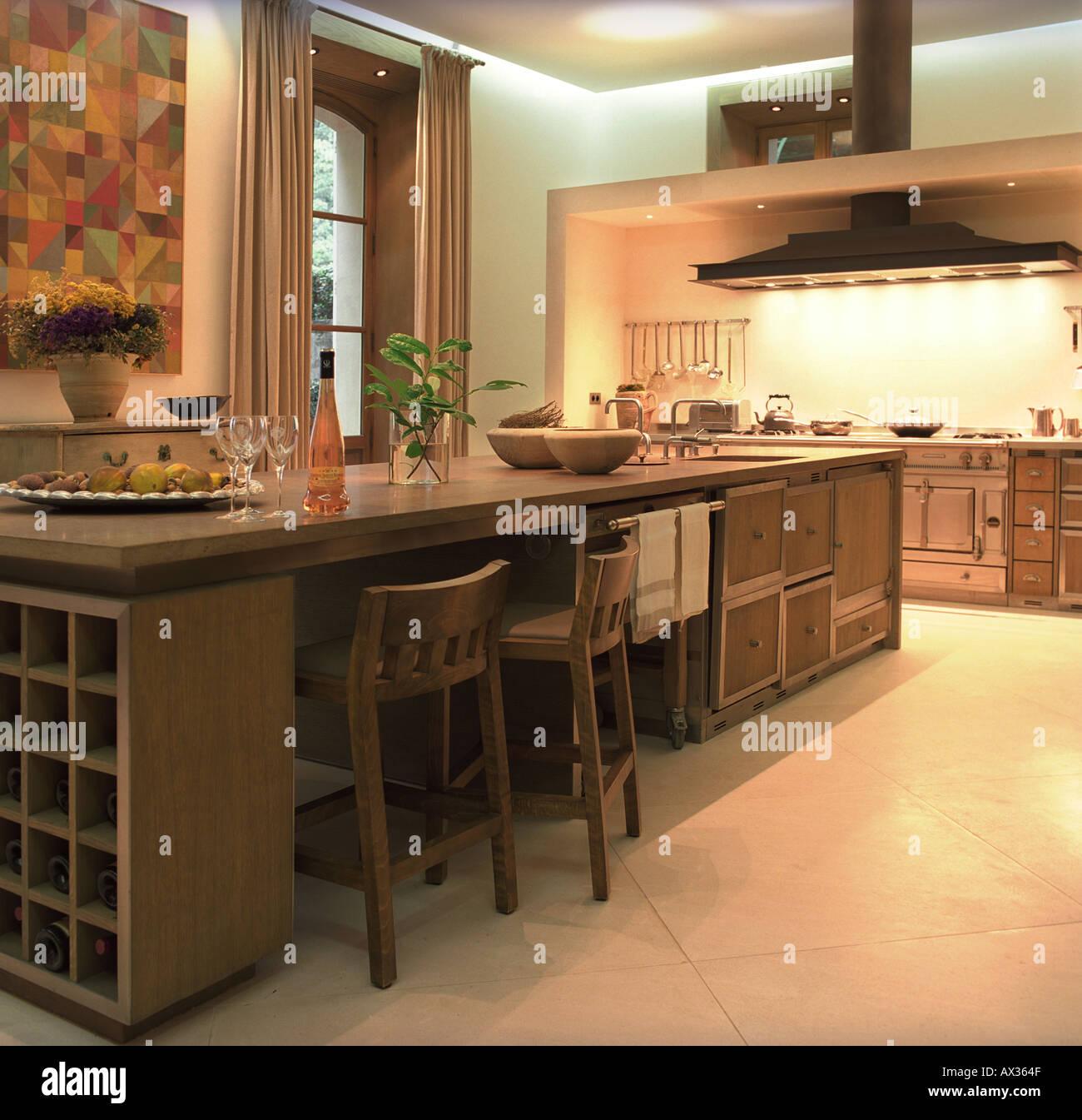 Chateau De Sejour Luxe Interieur Style Campagne Cuisine