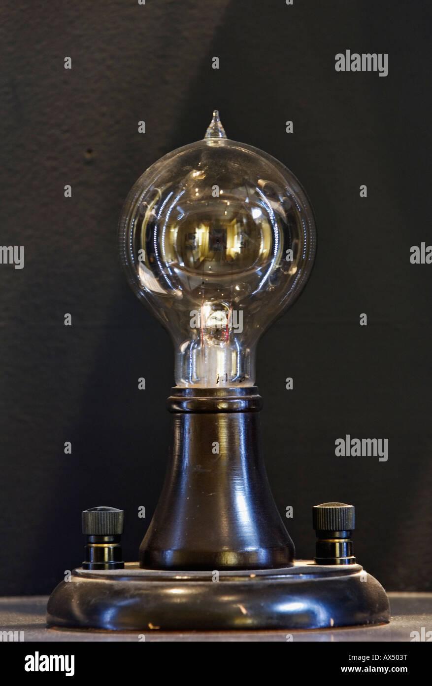 Replique De L Origine De Thomas Edison Lampe A Incandescence Qui Il