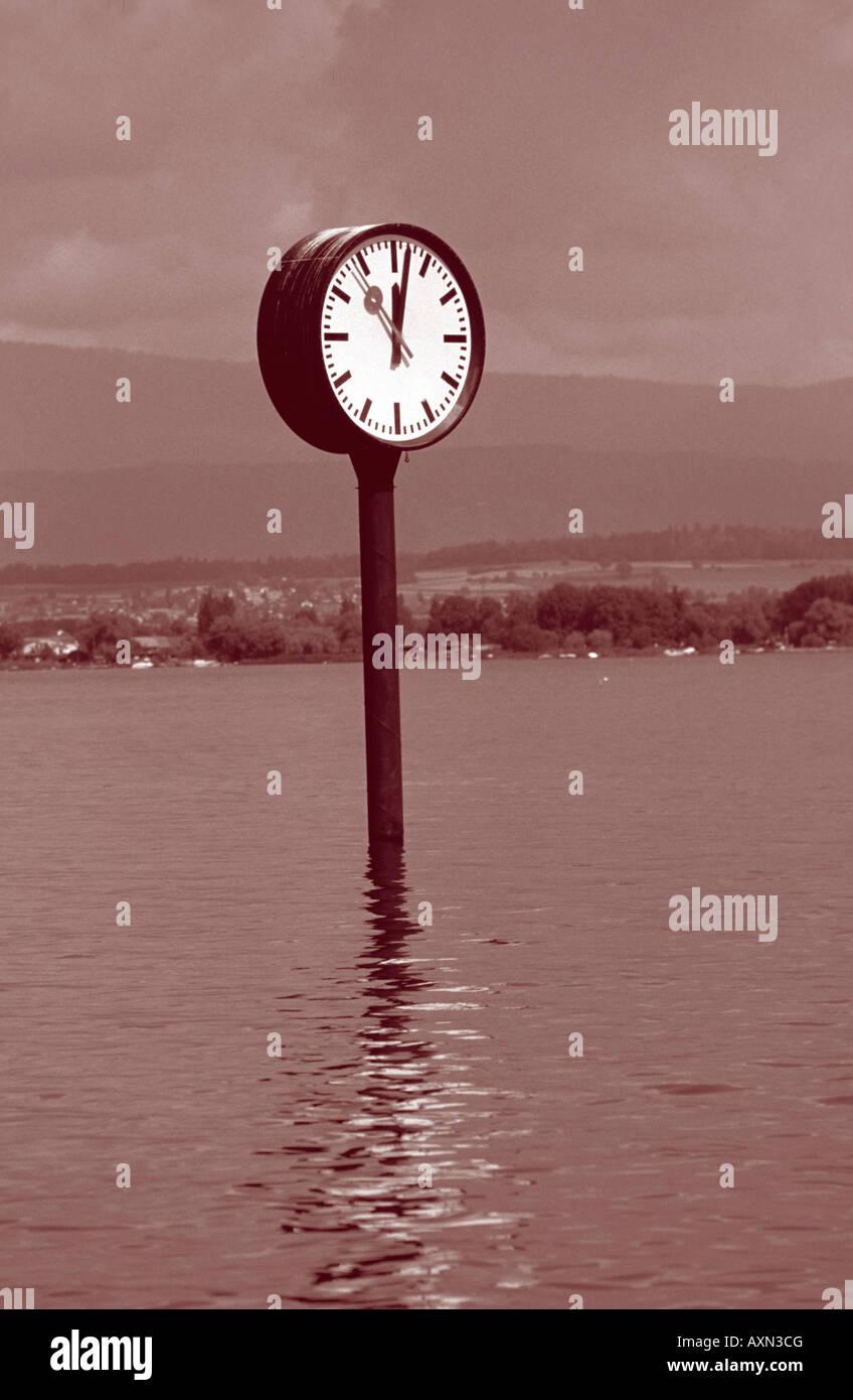 Symbole intemporel de temps Photo Stock
