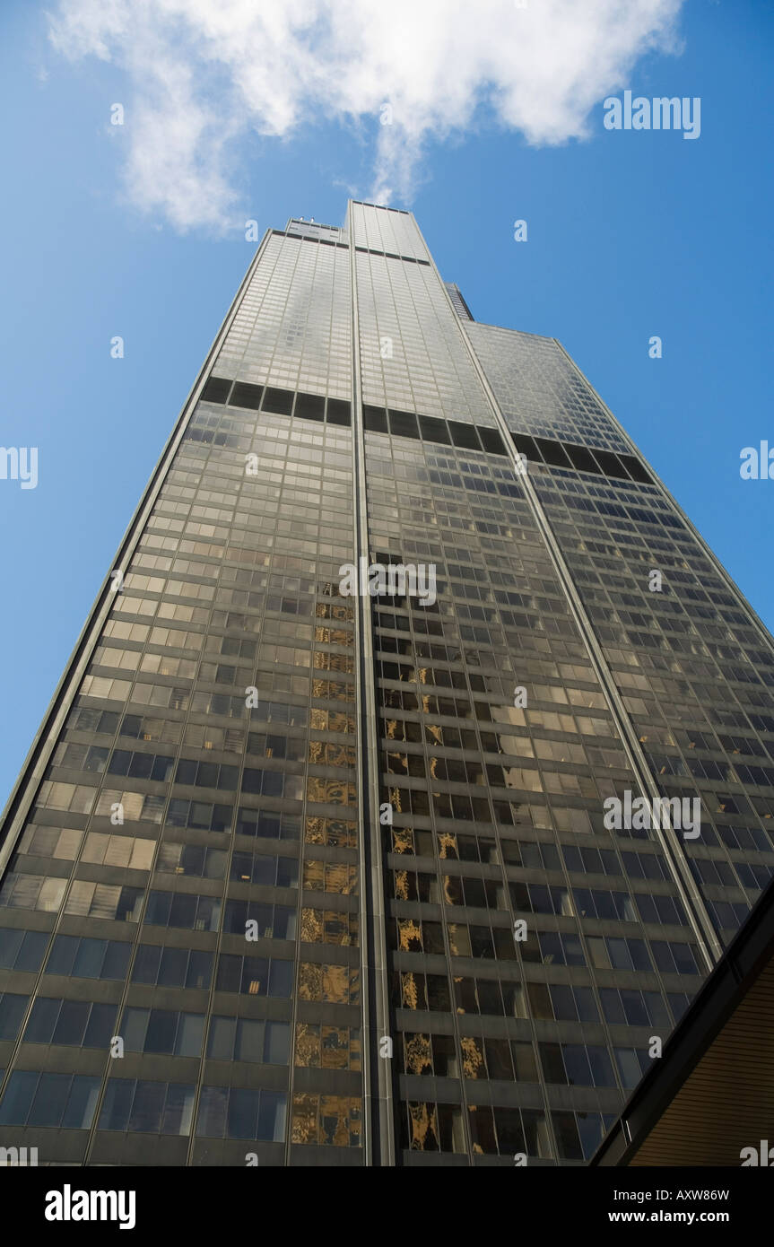 La Sears Tower, Chicago, Illinois, États-Unis Banque D'Images