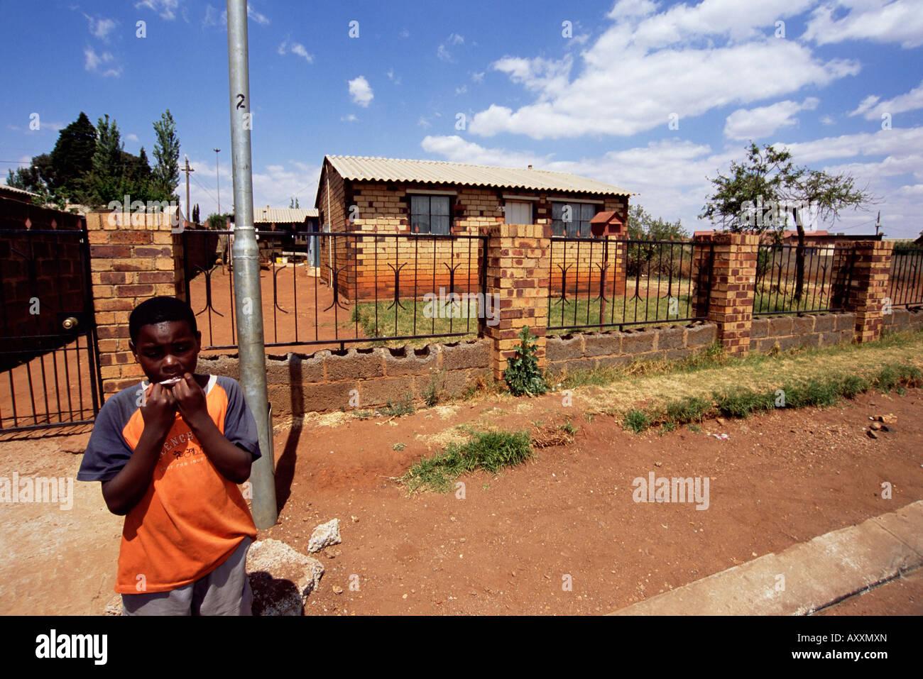 Soweto, Johannesburg, Afrique du Sud, l'Afrique Photo Stock