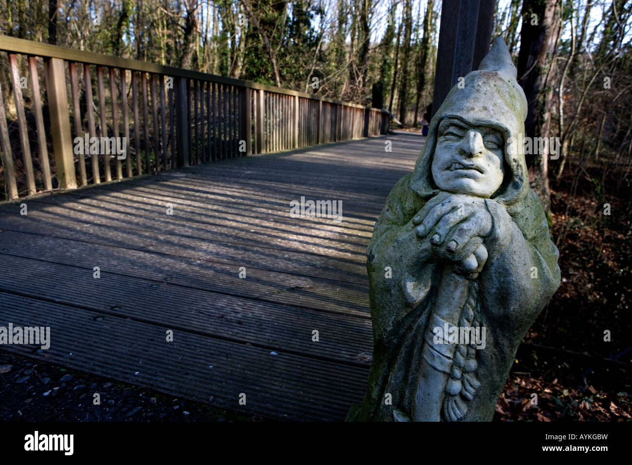 Texte: Mondo verde parc de loisirs Pays-bas Mondo Verde Banque D'Images