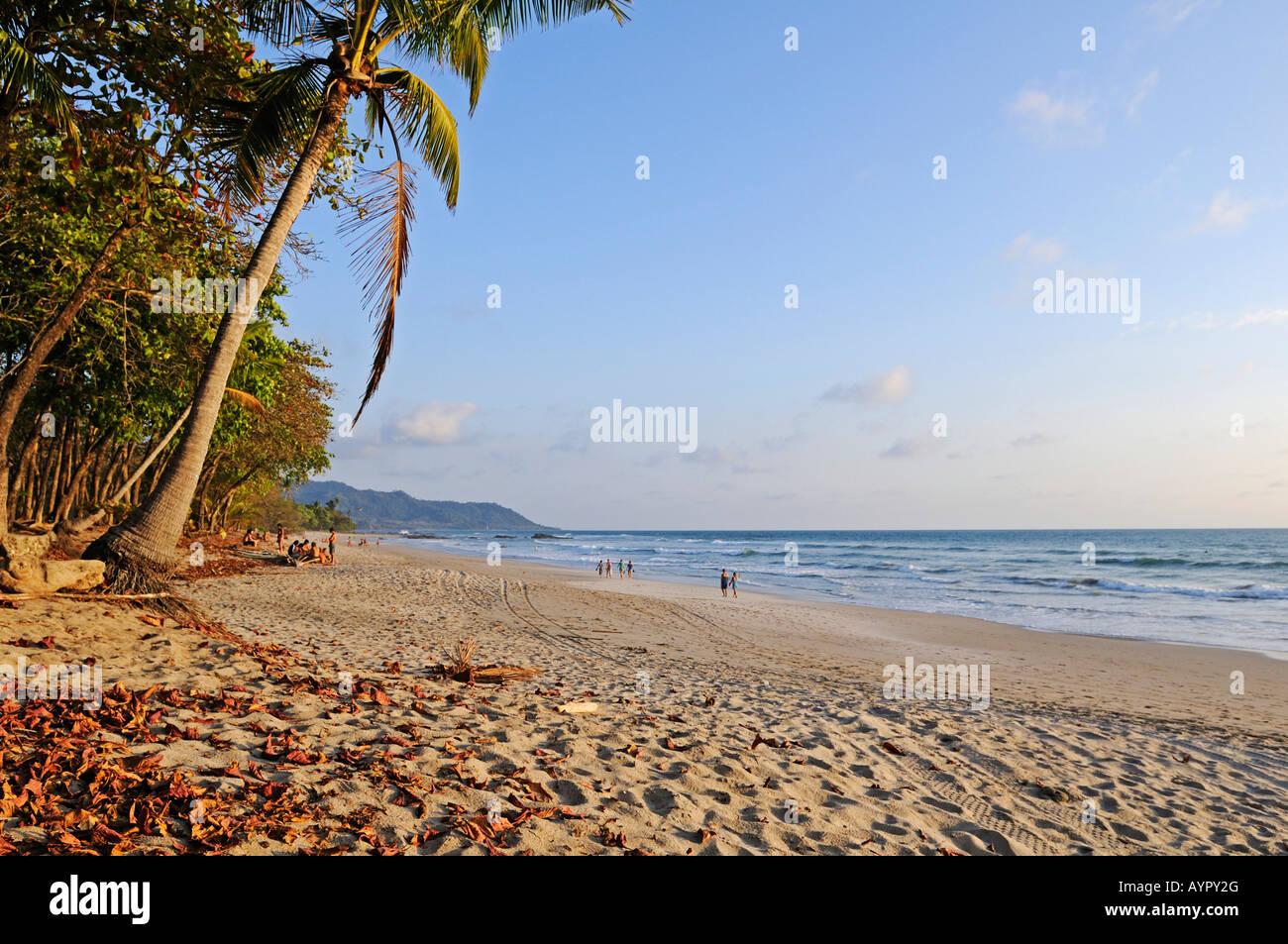 Plage de Santa Teresa, Mal Pais, Péninsule de Nicoya, Costa Rica, Amérique Centrale Photo Stock