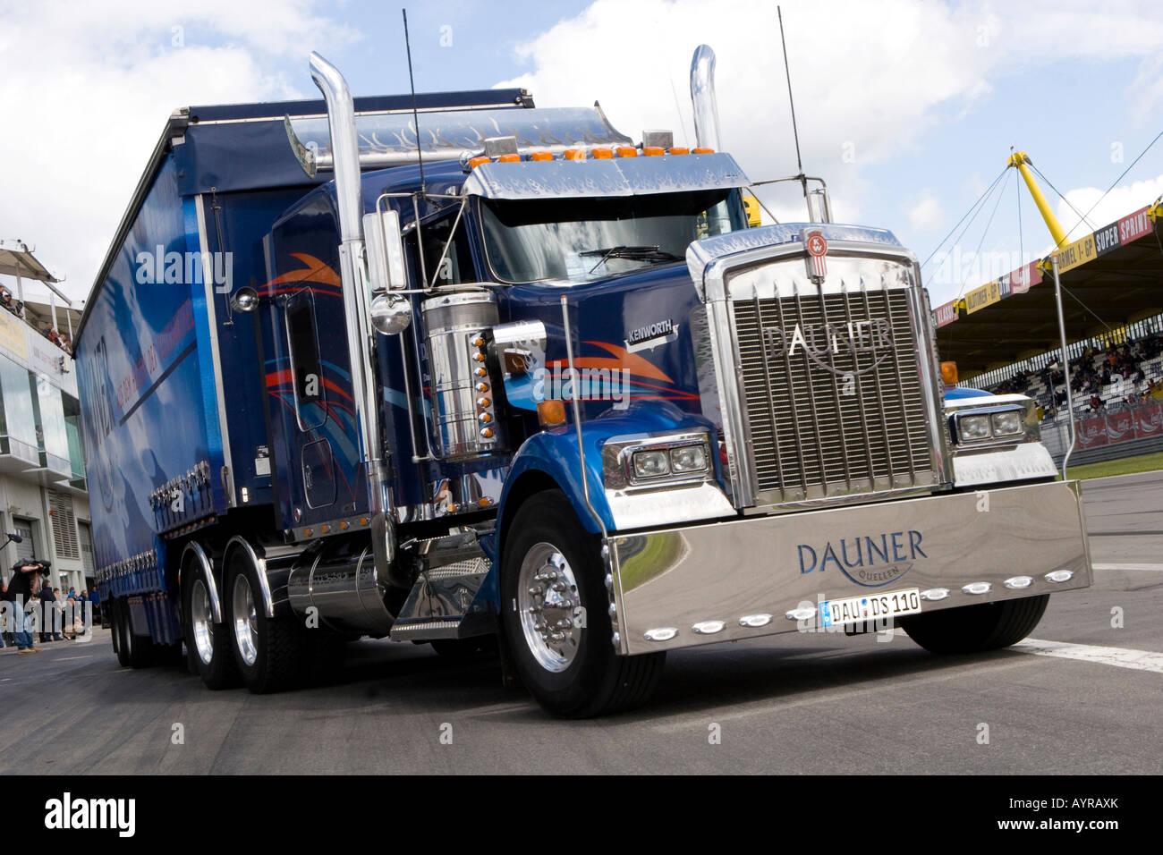 Voir les camions américains, Grand Prix Camion, Nuerburgring ...