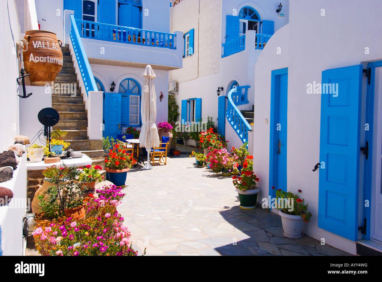 Décoration Appartement patio et piscine, dans le village de Fira sur ...