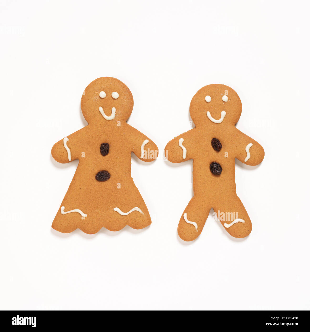 Gingerbread cookies Photo Stock