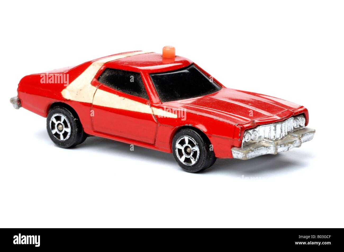 Jouet rétro voiture Starsky et Hutch Photo Stock