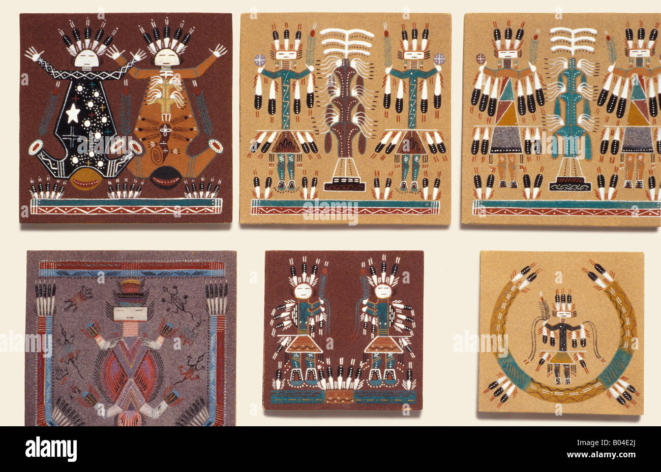 navajo sand painting photos navajo sand painting images alamy. Black Bedroom Furniture Sets. Home Design Ideas