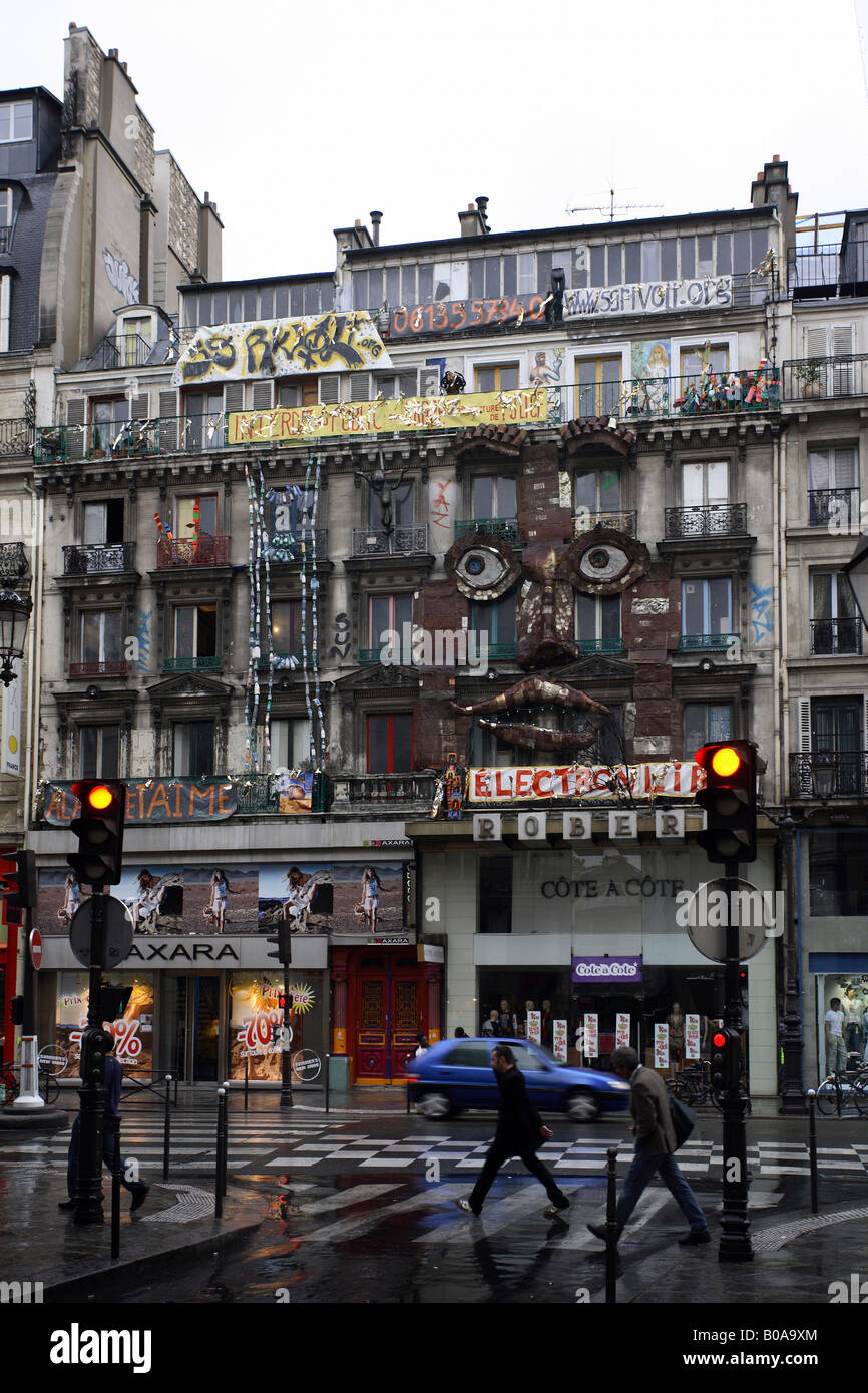 Maison des Artistes 9 Rivoli à Paris, France Photo Stock - Alamy