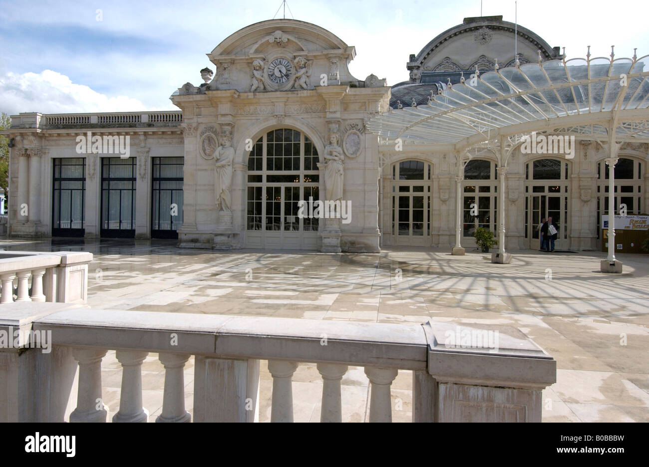 Grand Casino Opera, Allier, Vichy, Auvergne, France, Europe Banque D'Images