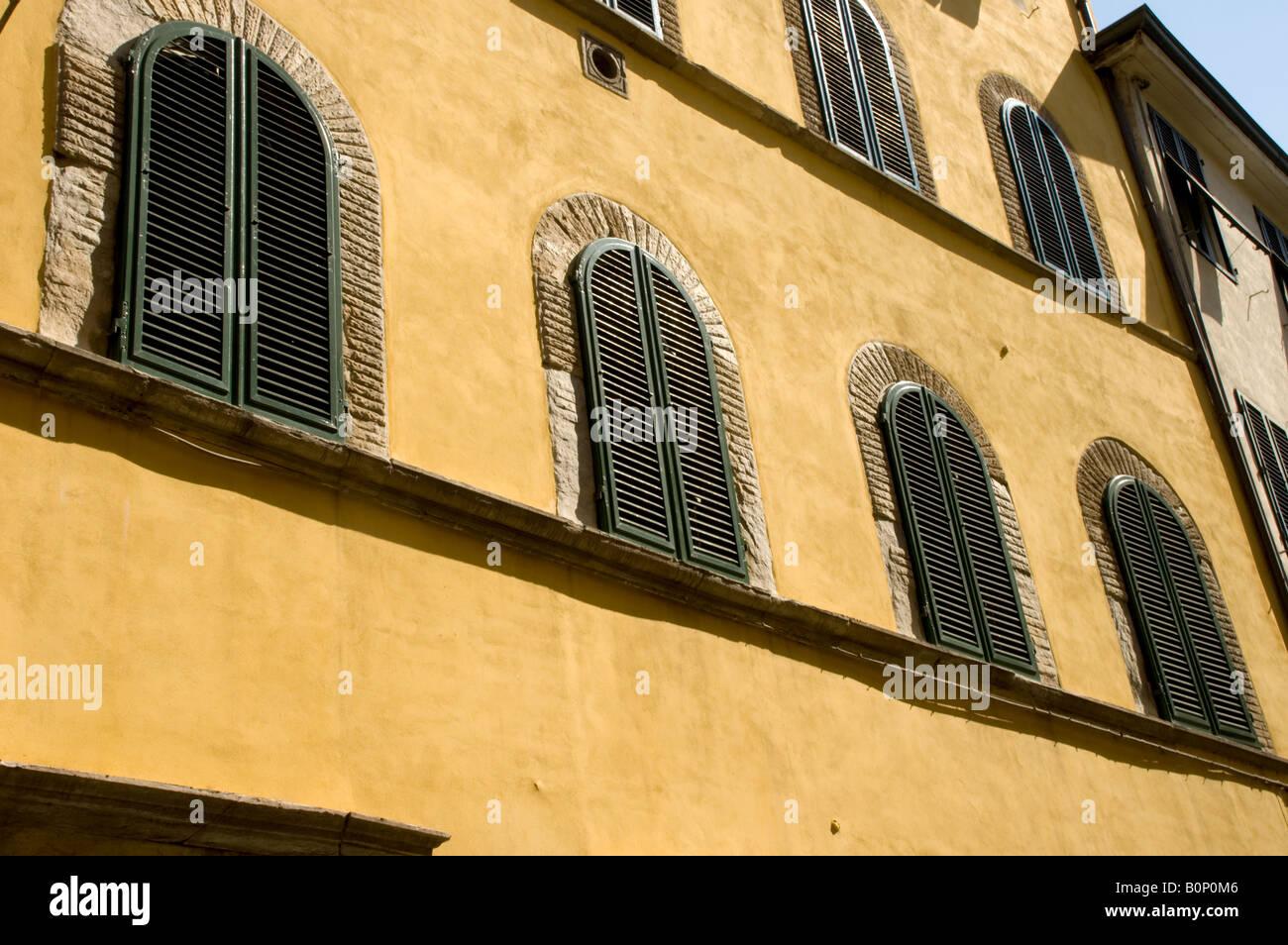 Capacités à Lucques, Toscane Banque D'Images