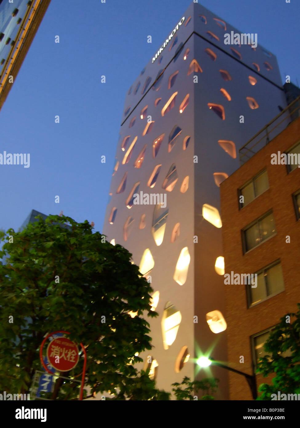 0566be218c74 ... D Images. Agrandir. L immeuble mikimoto à Tokyo