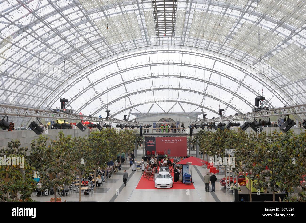 Leipzig Neue Messe, le parc des expositions de Leipzig, AMI Automobil International, International Auto Show, Leipzig, Photo Stock