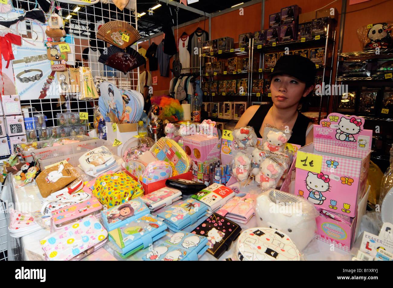 Japan Expo Les Stands : Un stand à lexposition japan expo le plus grand rassemblement de
