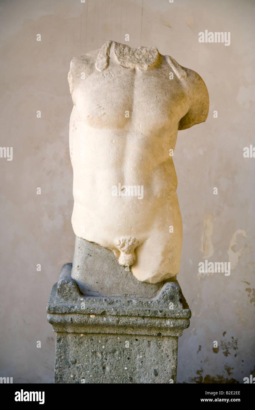 Statue sans tête les Musées du Capitole Rome Lazio Italie Photo Stock