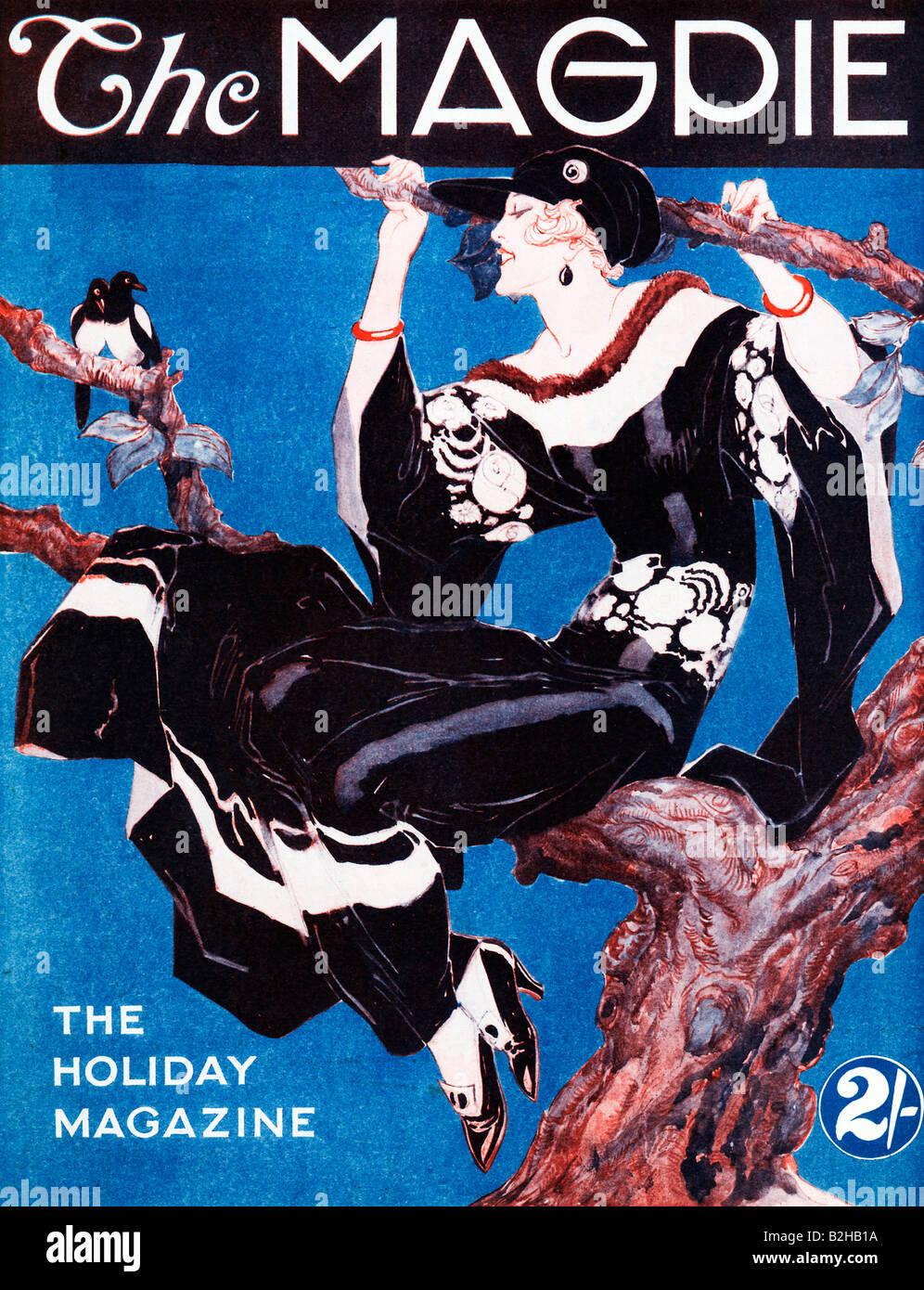 Magazine Art Et Décoration la pie 1923 couverture du magazine art déco pour un magazine