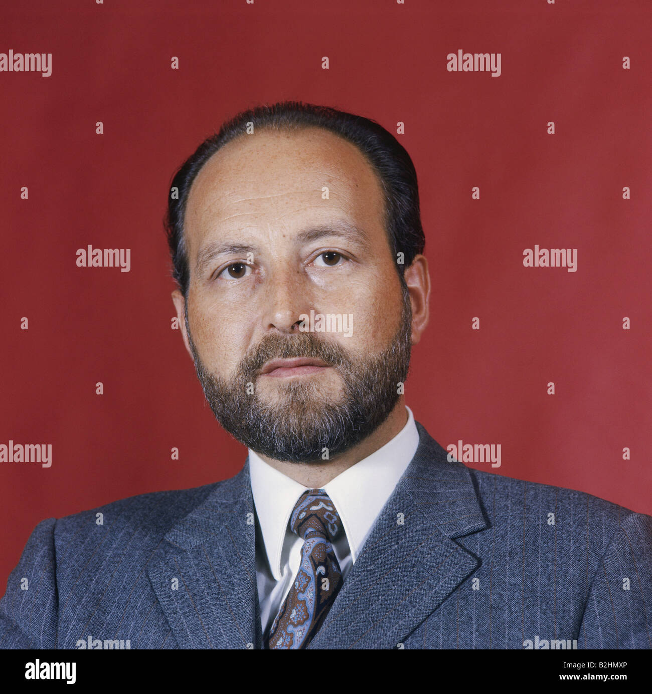 Engelhard, Hans Arnold, 16.9.1934 - 11.3.2008, homme politique allemand (FDP), portrait, 1972, Additional-Rights Photo Stock
