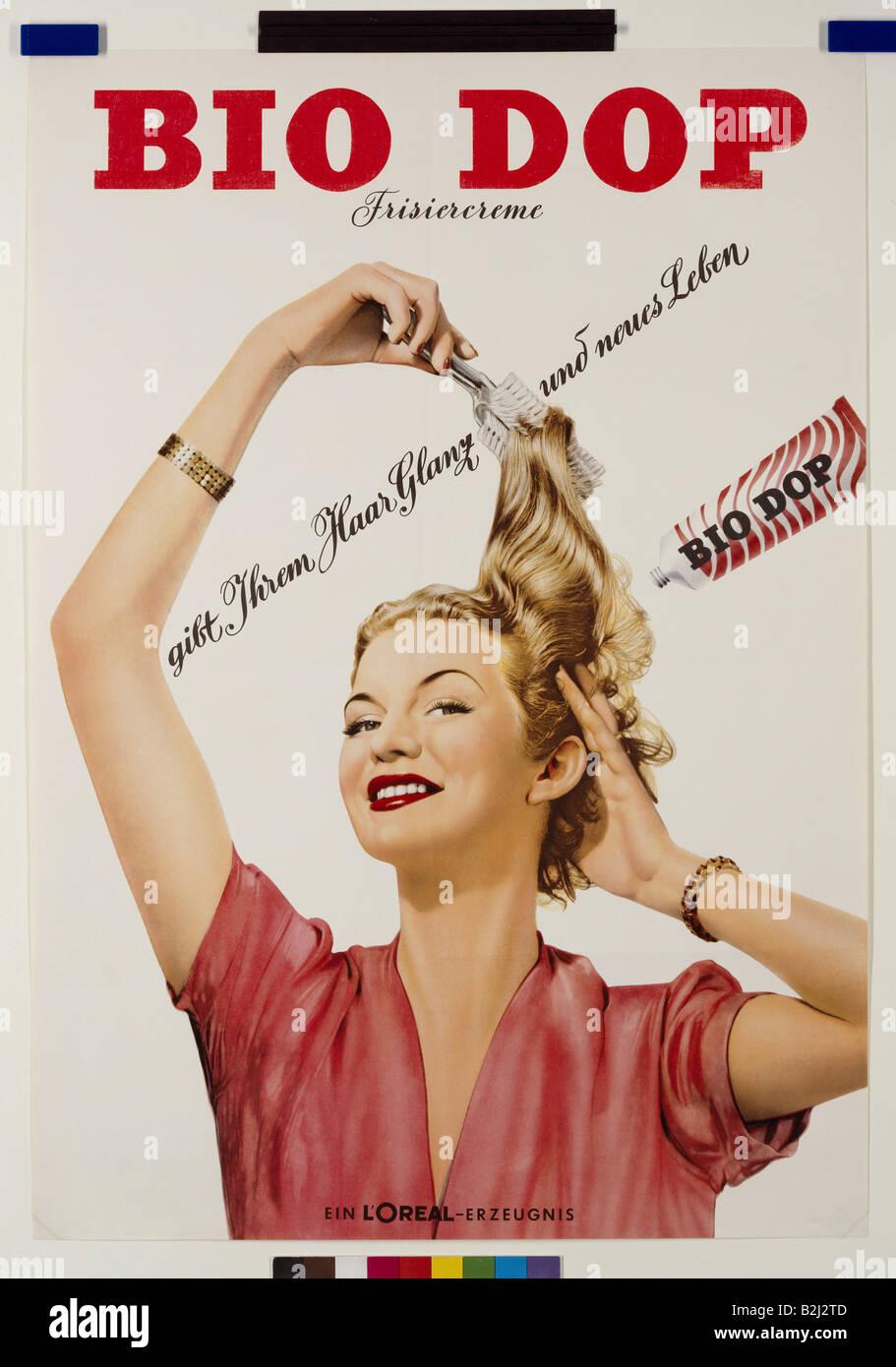 la publicit les produits cosm tiques soins des cheveux l 39 oreal 39 bio 39 frisiercreme tdc. Black Bedroom Furniture Sets. Home Design Ideas