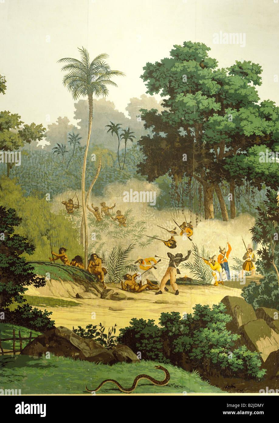 Geographie Billet Au Bresil Les Gens Les Autochtones Se Battre