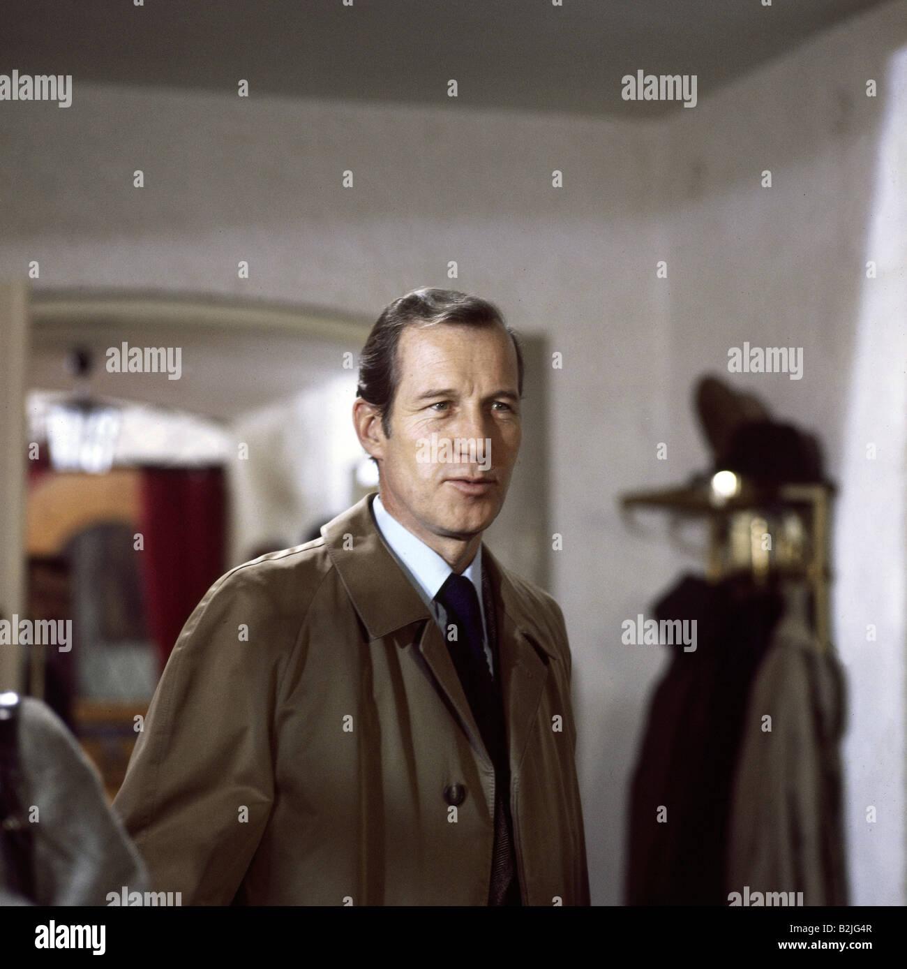 "Felmy, Hansjörg * 31.1.1931, acteur allemand, série télé, ""Tatort"", l'épisode Photo Stock"