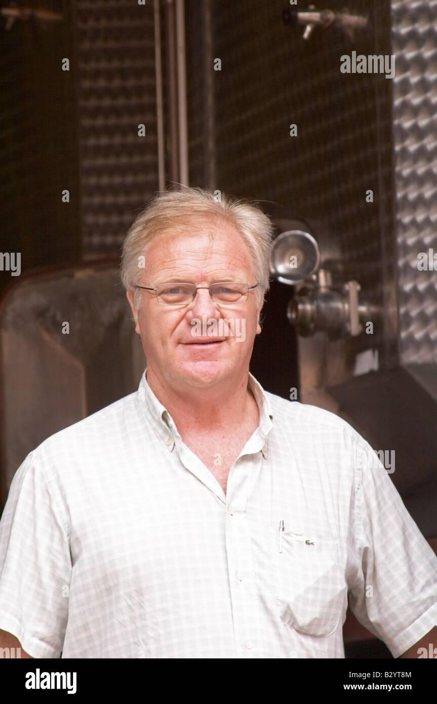 Pierre Piquemal. Domaine Piquemal, espira de l'Agly, Roussillon, France Banque D'Images