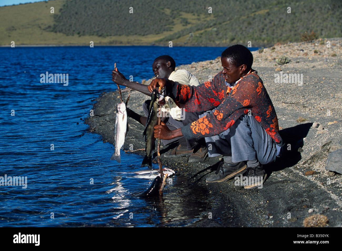 peche truite kenya