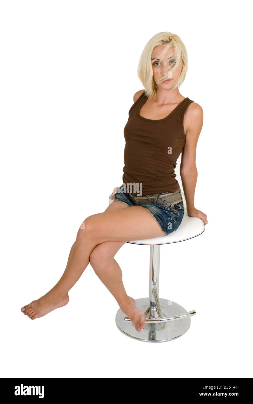 For Girl on bar stool share