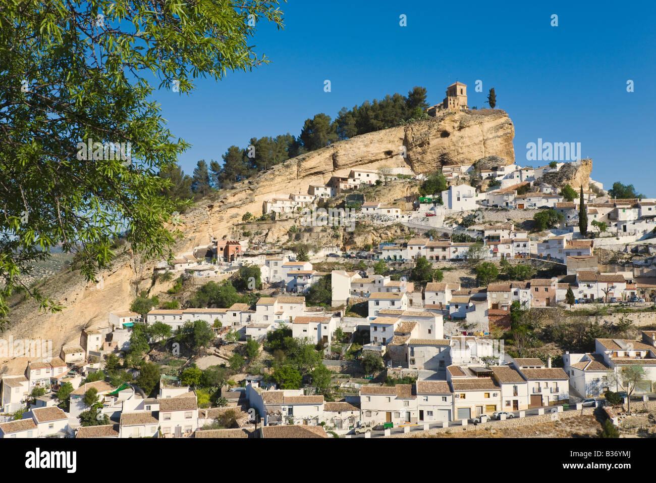 Montefrio Granada Province Espagne Banque D'Images
