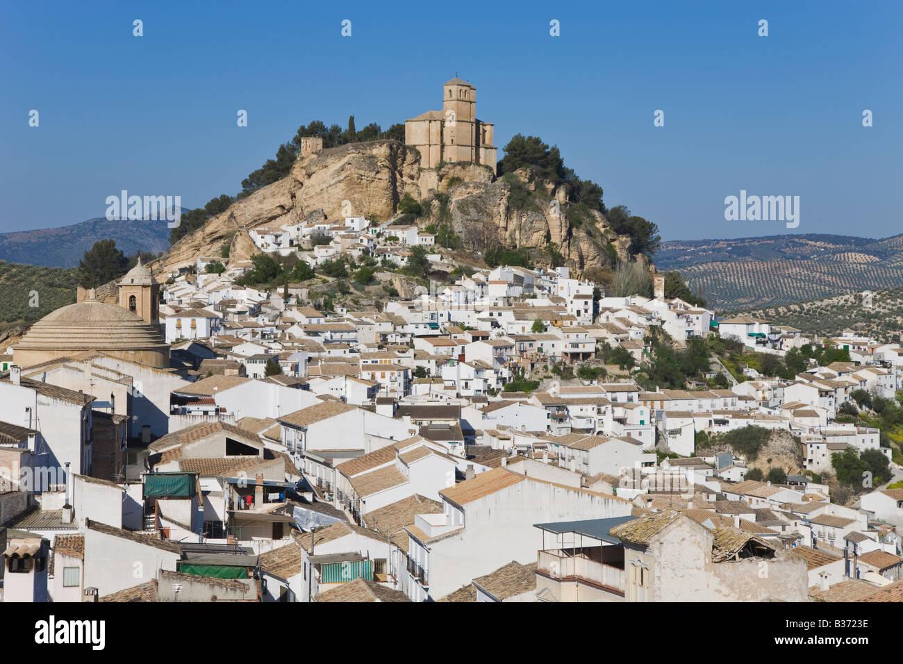 Montefrio Granada Province Espagne Iglesia de la Villa Banque D'Images
