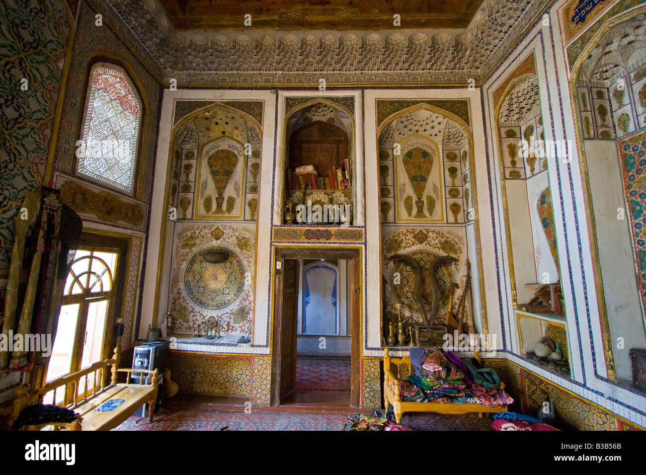 Décoration à l\'intérieur orné d\'une ancienne maison juive de ...