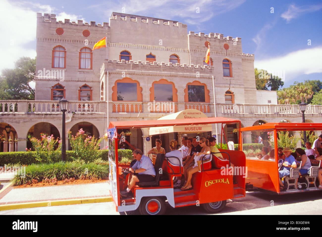 Les directeurs d'établissement Château Musée Ripleys croyez ou pas St Augustine en Floride Photo Stock