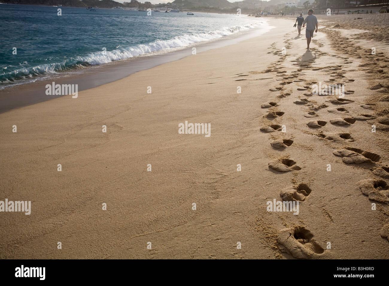 Gens sur la plage Banque D'Images