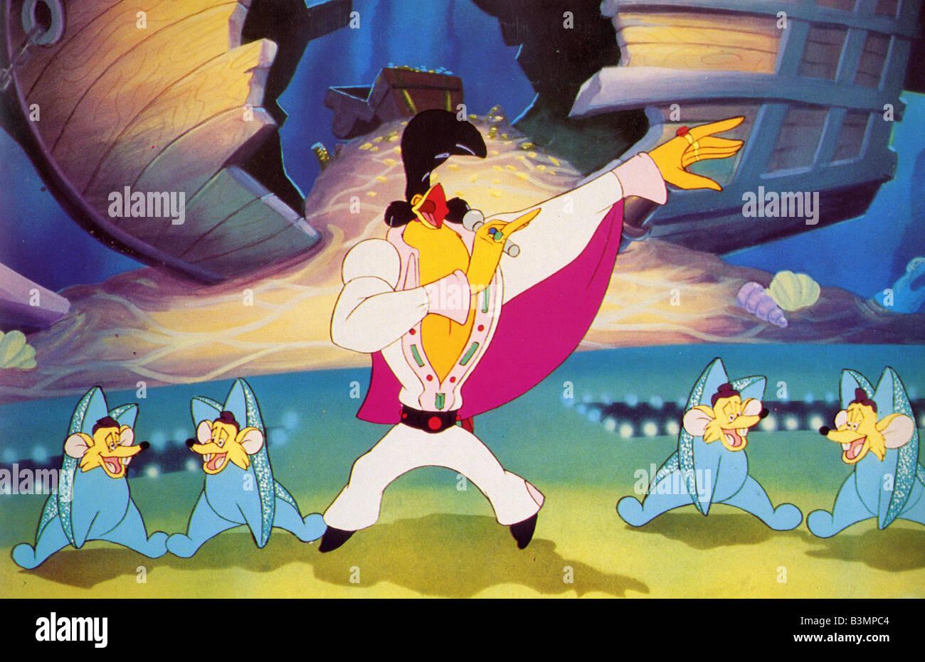 ROCK UN DOODLE 1991 Goldcrest cartoon Banque D'Images