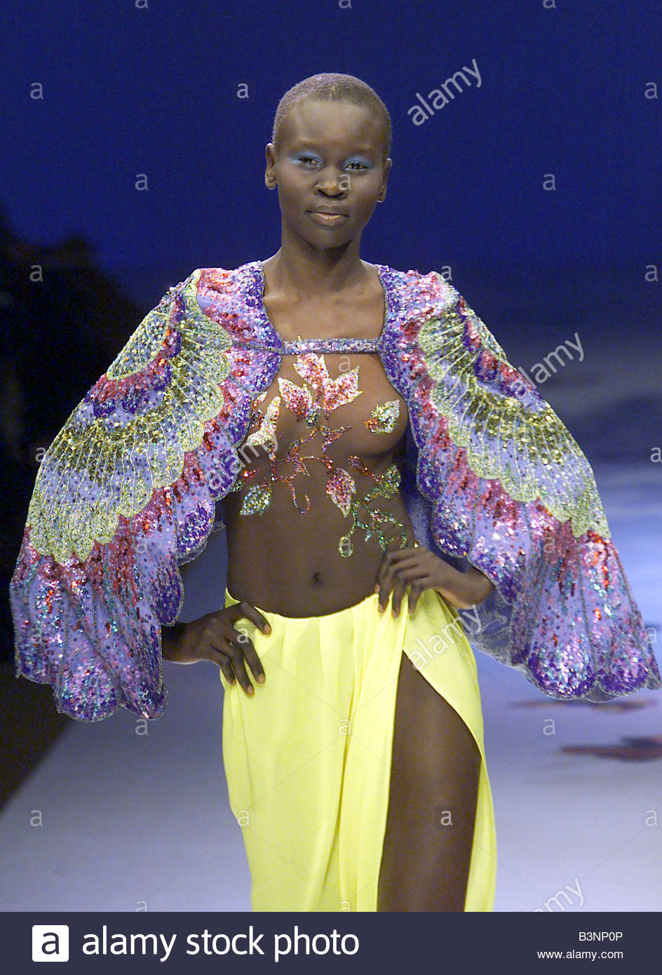 Alek Wek SUD 	2001 Alek Wek SUD 	2001 new photo