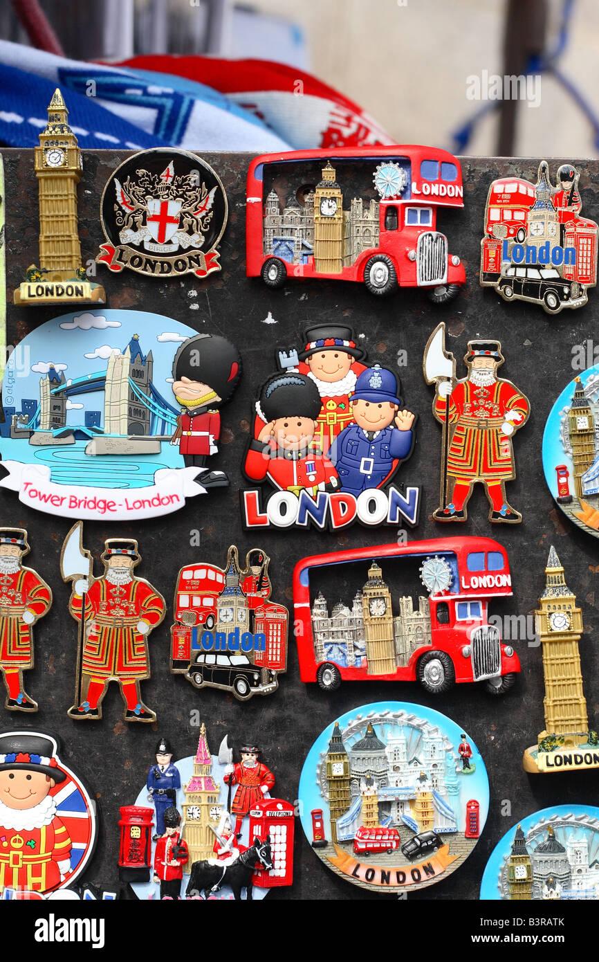 London Tower Bridge Aimant de Réfrigérateur Montage England British Souvenir Cadeau Bois