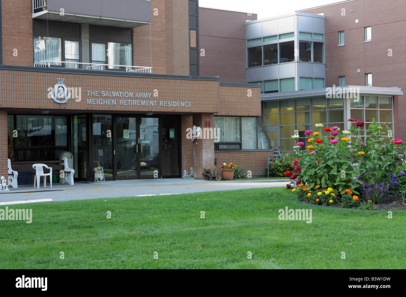 Maison de Retraite de l\'Armée du Salut Meighen à Toronto Canada ...