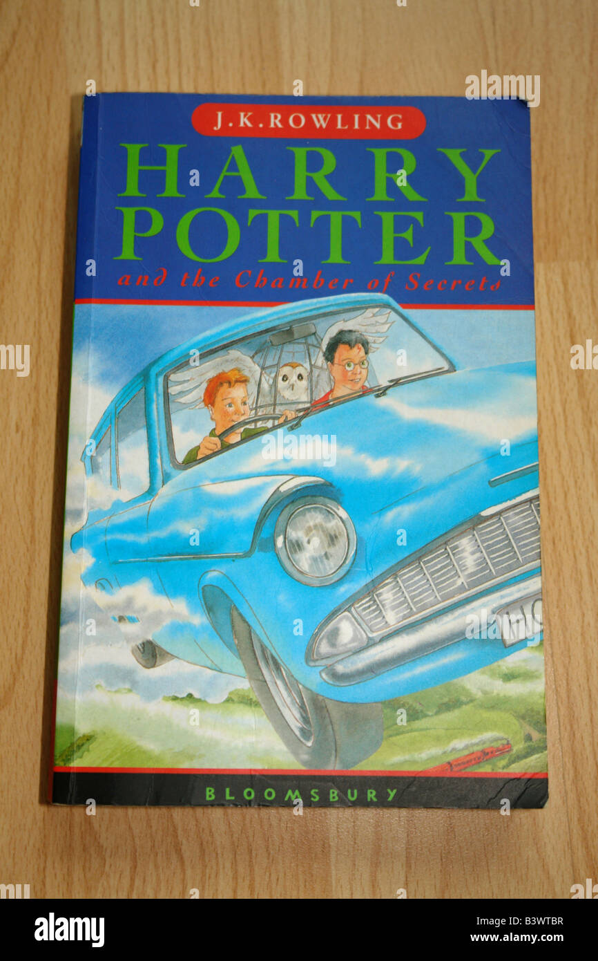 Harry Potter Livre De Poche Go Uk 2008 Banque D Images