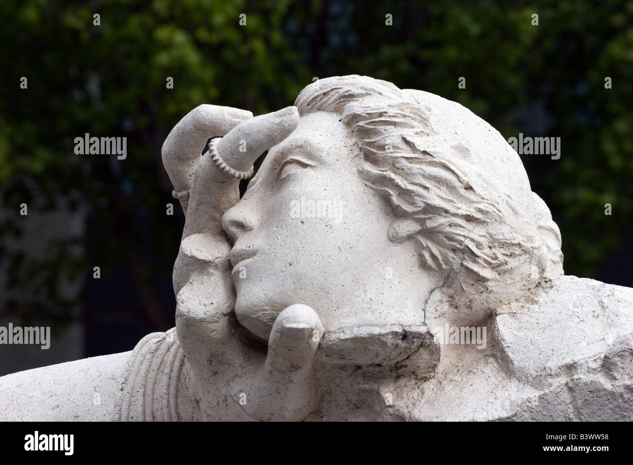 Sculpture moderne art sacramento californie Photo Stock