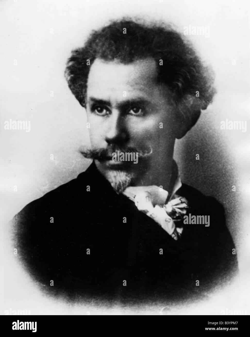 Delavrancea, Barbu Stefanescu, 1858 - 1918, l'auteur roumain / écrivain, portrait, , Additional-Rights Photo Stock