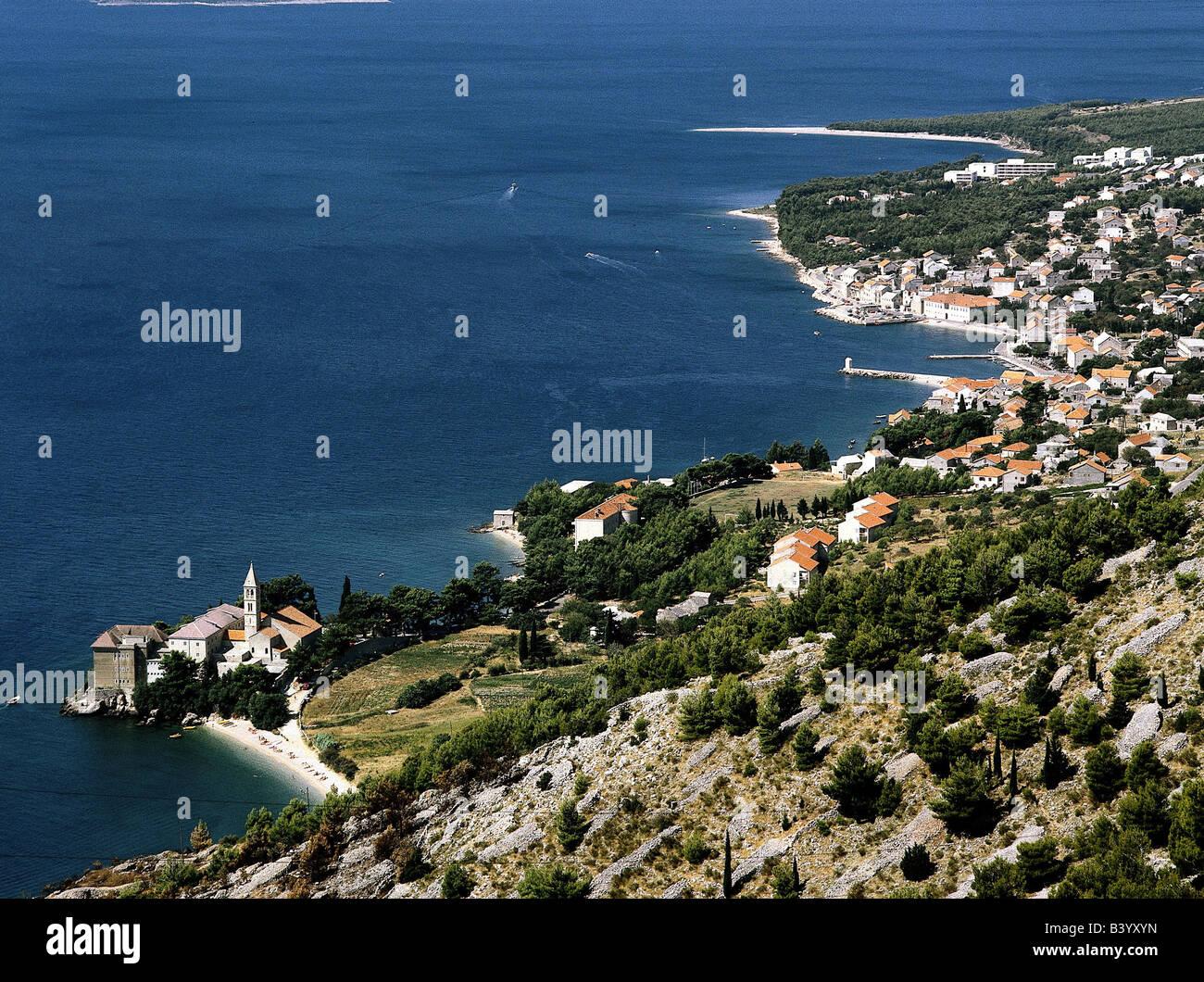 Géographie / voyages, Croatie, Kvarner, île de Brac, Supetar, sommaire, Additional-Rights-Jeux-NA Photo Stock