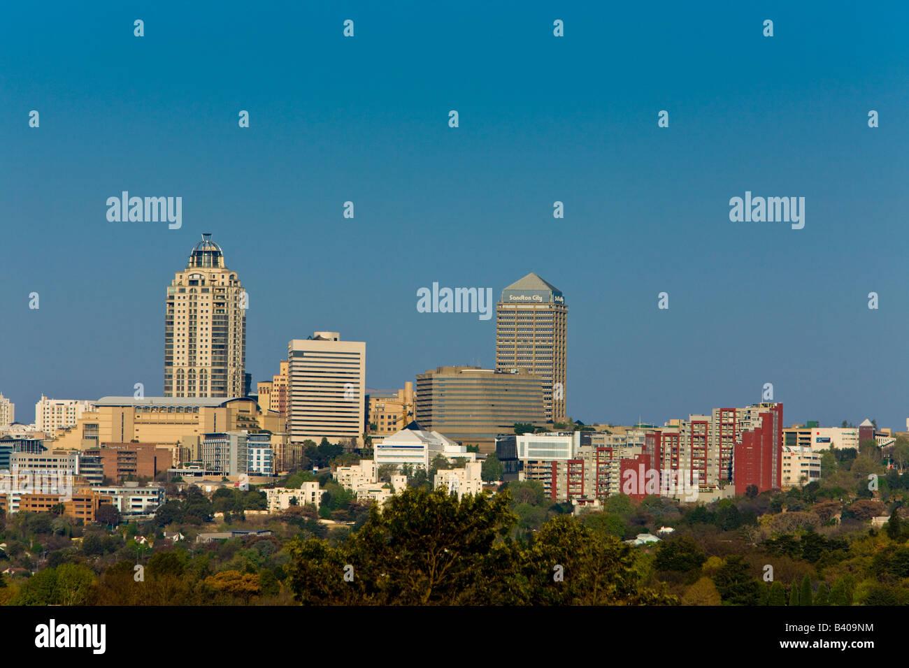 Sandton, Johannesburg, Gauteng, Afrique du Sud Photo Stock
