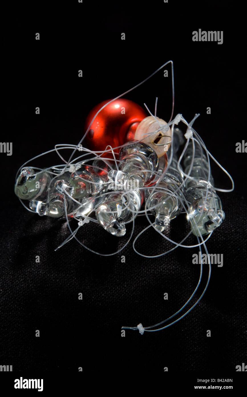 Boule Plastique A Decorer glaçons en verre transparent avec une balle en plastique