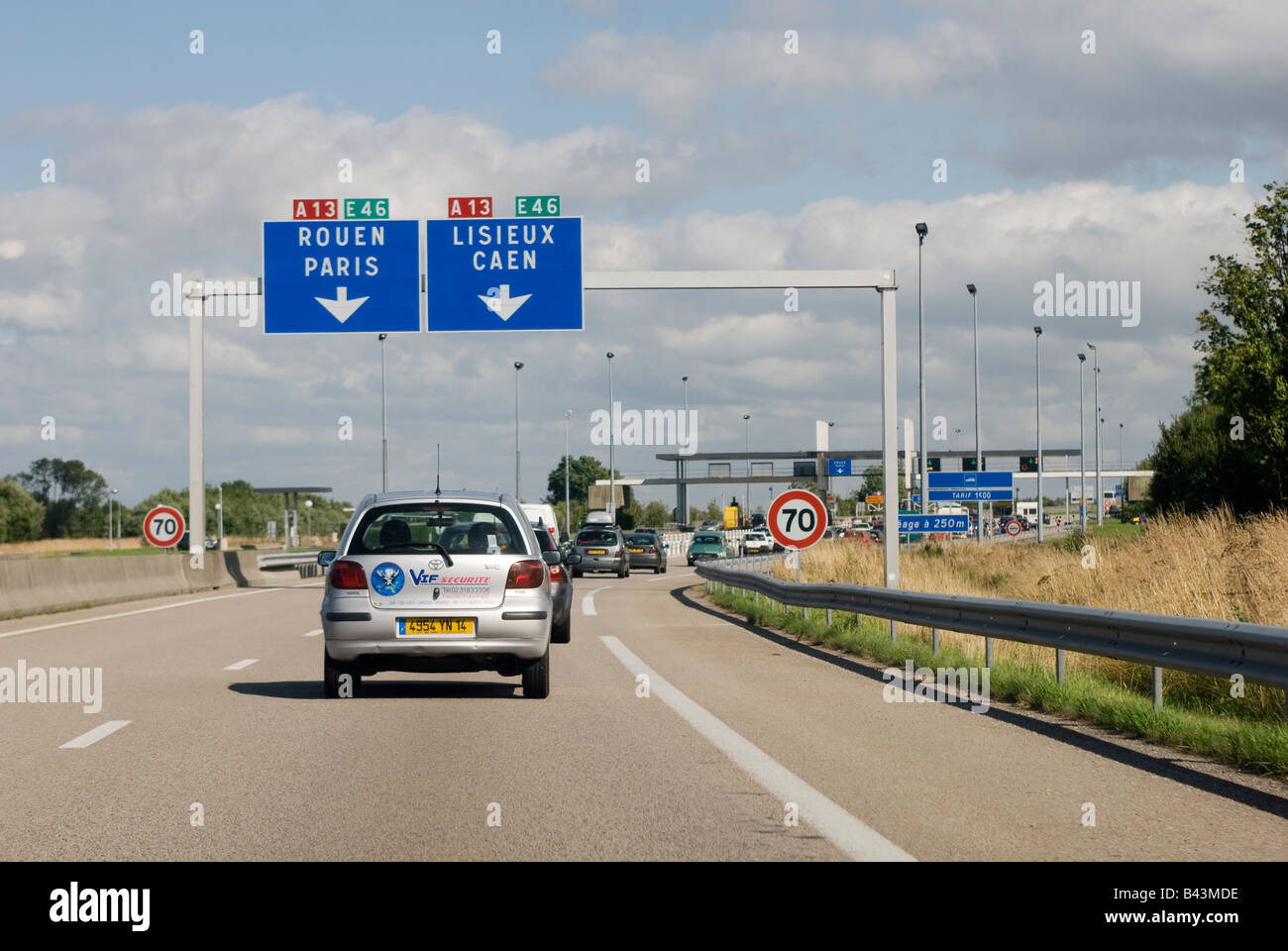 french autoroute sign photos french autoroute sign images alamy. Black Bedroom Furniture Sets. Home Design Ideas
