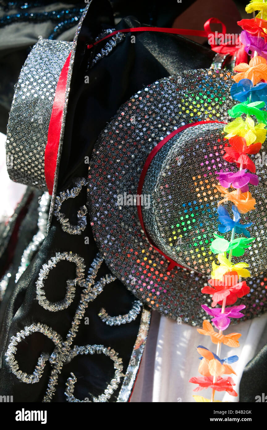 Costumes de Carnaval Carnaval à Hackney, Londres Photo Stock
