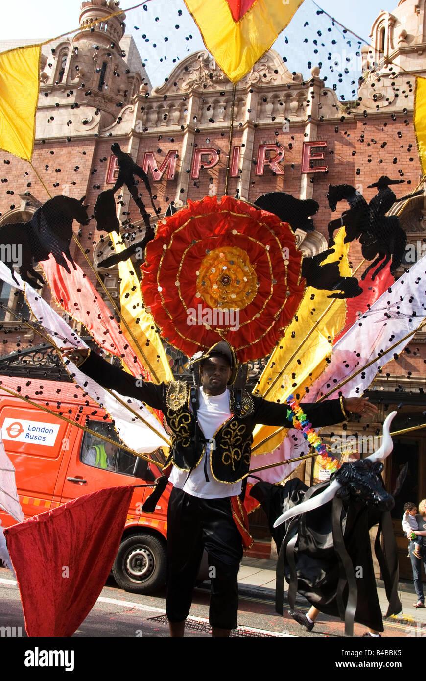 28 septembre 2008 Carnaval de Hackney Photo Stock