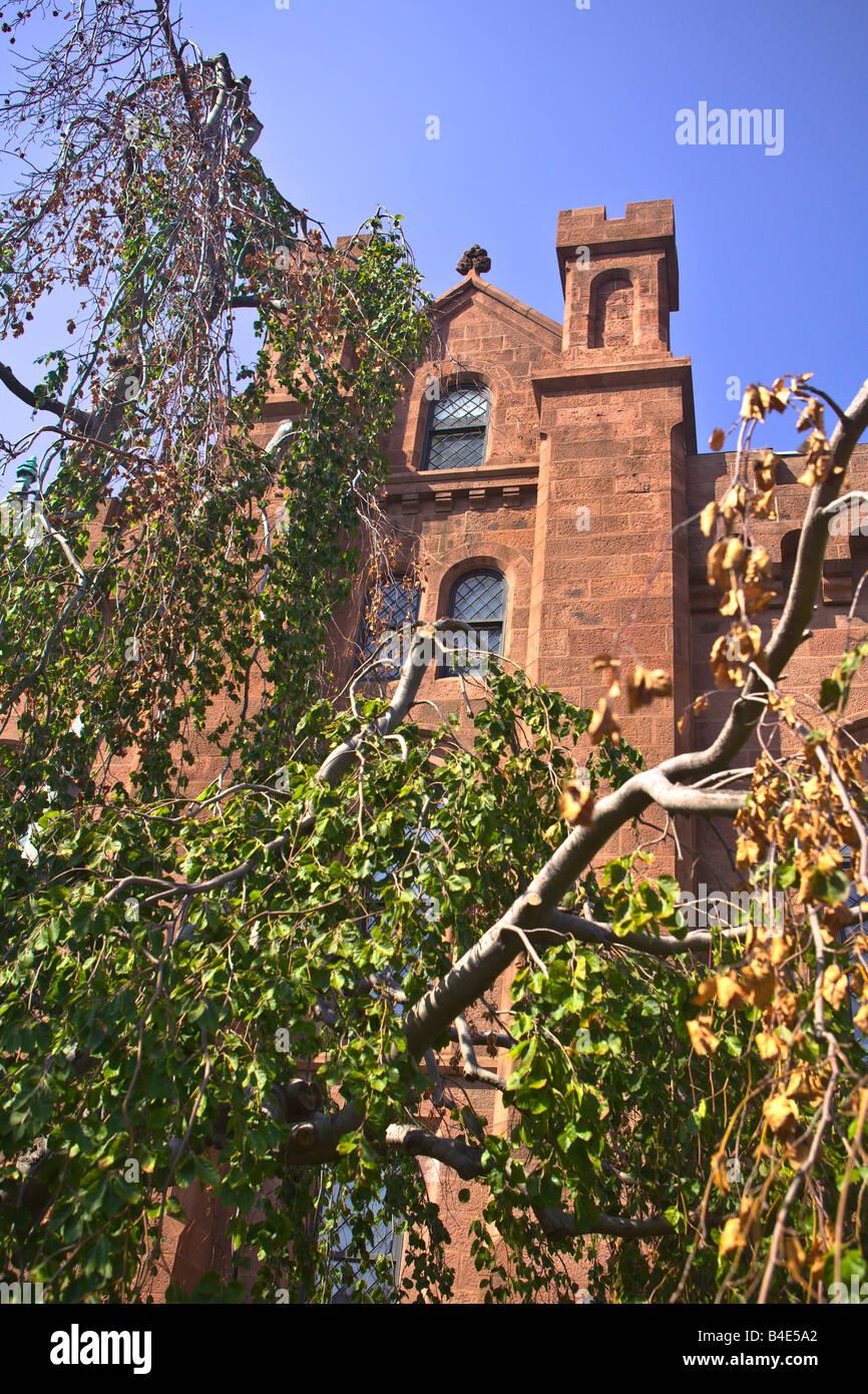 Smithsonian Institution connue sous le nom de Château Washington DC Banque D'Images