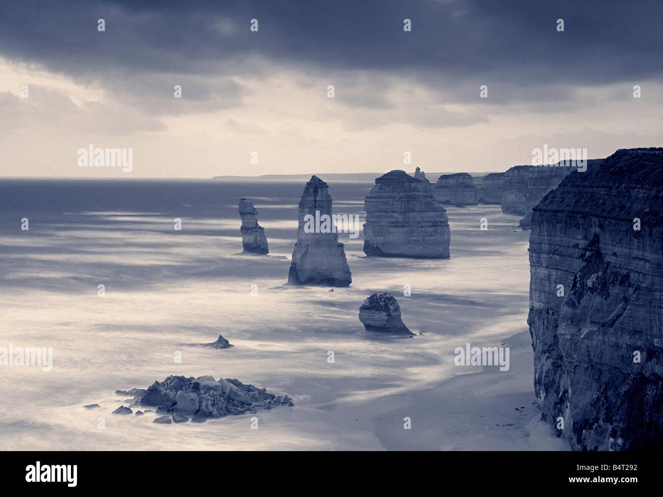 Douze Apôtres, Victoria, Australie Photo Stock