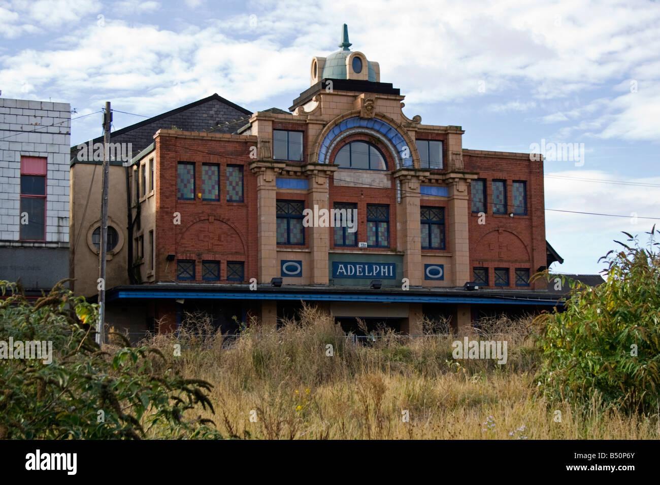 Adelphi theatre Photo Stock