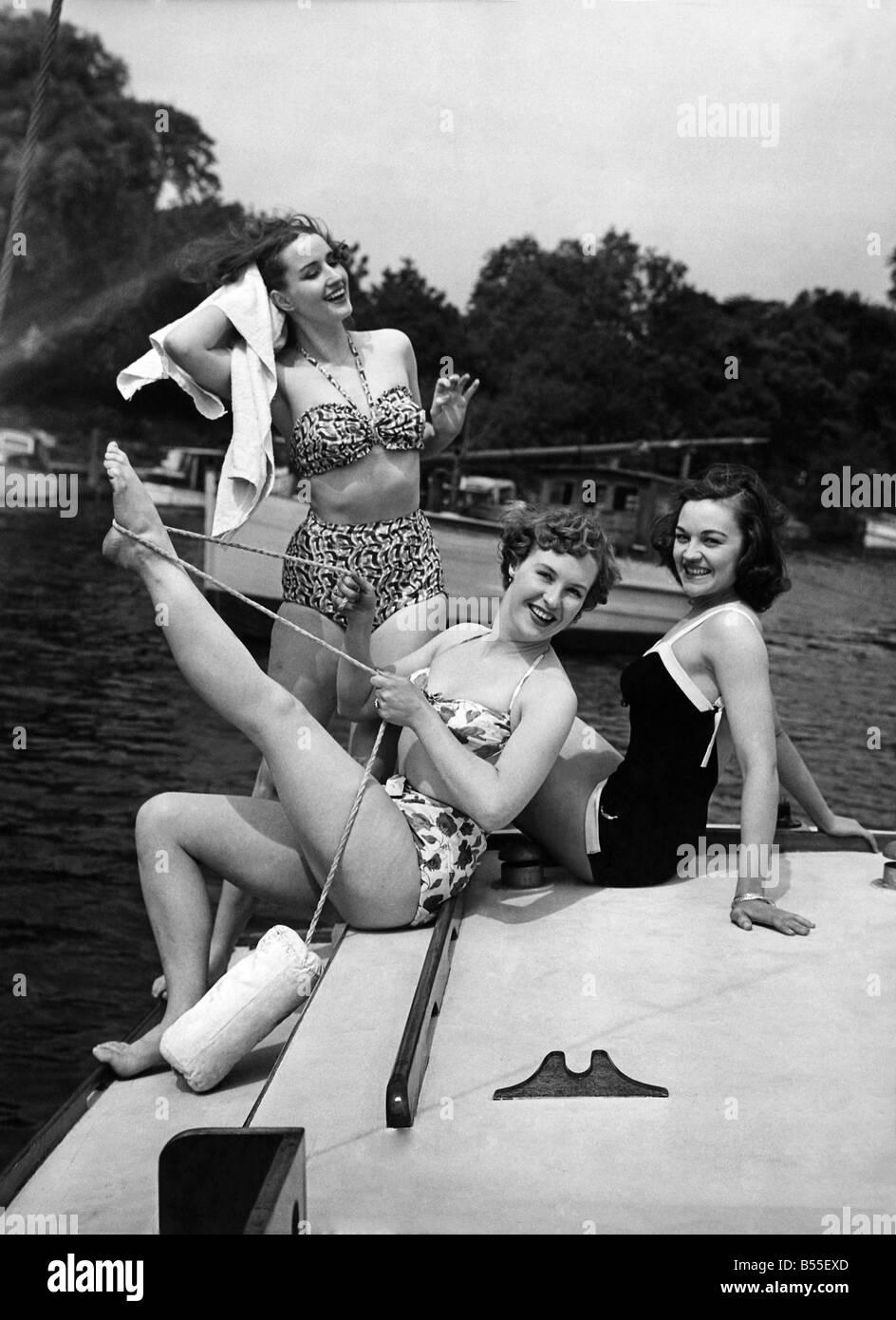 La mode des années 50. P008712 Photo Stock