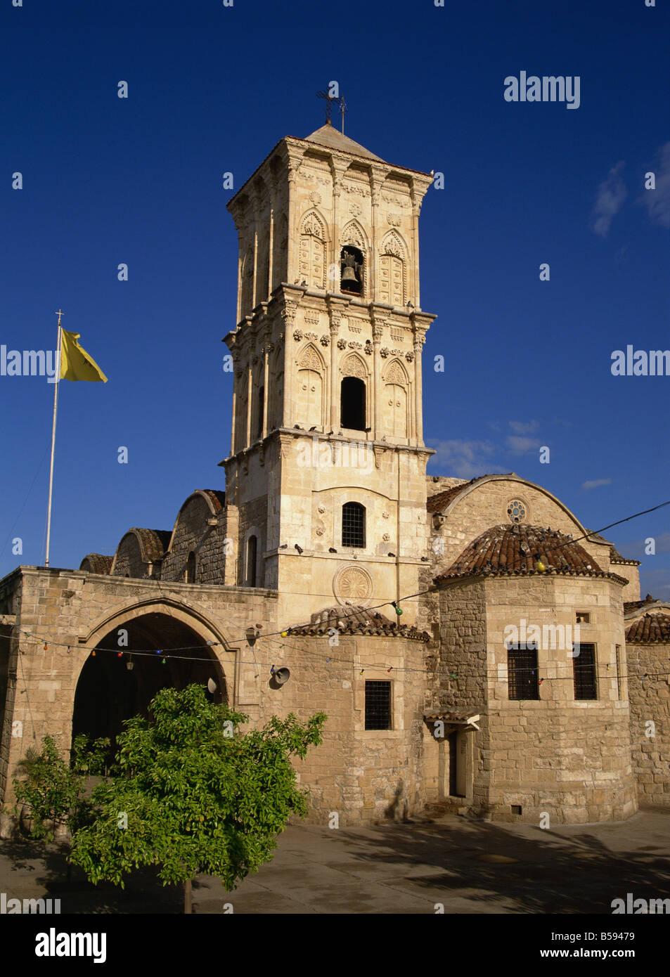 Le 9e siècle, l'église de Saint-Lazare, un lieu de pèlerinage qui contient le tombeau de Lazare, Larnaca, Chypre, Europe Banque D'Images